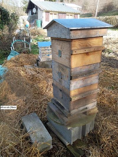 Debut installation 2 me ruche warre sur notre blog for 2eme hypotheque sur maison