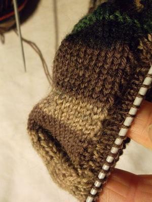 comment tricoter des chaussettes homme